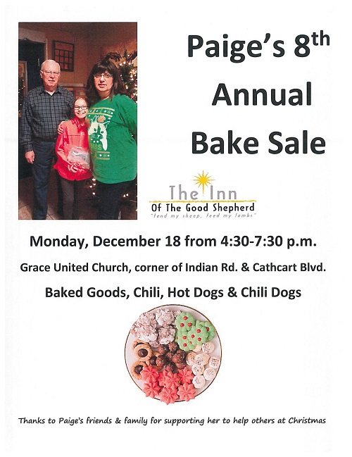 Paige's 8th Annual Bake Sale