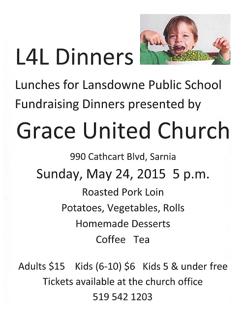 Lunches for Lansdowne Fundraising Dinner